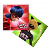 Салфетки бумажные Леди Баг и Супер-Кот, 12 шт