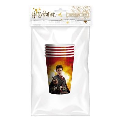 Harry Potter. Набор бумажных стаканов, 6 шт*250 мл