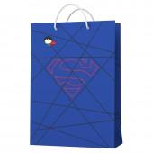 Superman. Пакет подарочный большой-3, 220*310*100 мм